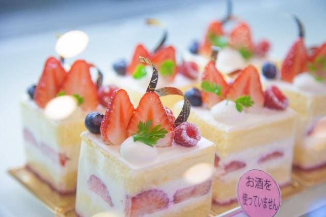 不二家のケーキ