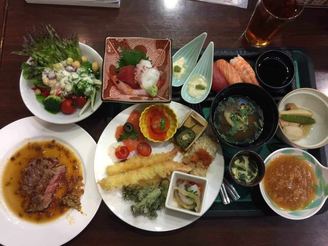 ホテル瑞鳳料理