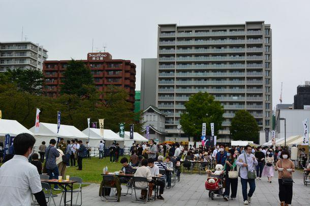 日本酒と西公園